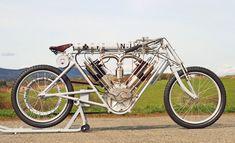 PAVEL MALANIK # 1909 2714cc North London Garage Record Breaker Board Track Motorcycle