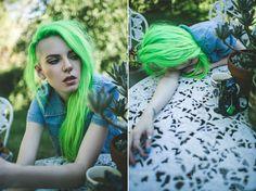 "Вы можете добиться светло-зелёных волос (green hair) при помощи краски ""SPRING GREEN"" http://punkycolour.com.ua/magazin/spring-green-kraska-dlya-volos-punky-color-opisanie"