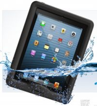 Lifeproof case for ipad air. It is not available yet. But hopefully by Christmas. Lol