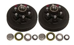 "42655AHD --- 6 on 5-1/2"""" Hub and Drum Assembly - 6,000 lb - Pair"