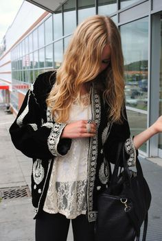 Bohemian is both stylish and wearable.