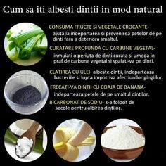 Cum sa iti albesti dintii in mod natural  How to whiten your teeth naturally