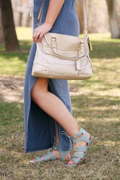 Three ways to style a simple dress - Part 1- Boho Chic | Urban Ombré -- A Fashion Blog