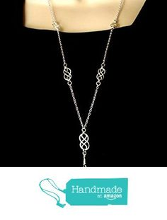 Fashion ID Lanyard with Silver Celtic Knots from By Brenda Elaine Jewelry…