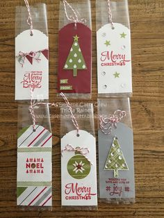 The Speckled Sparrow: Christmas Cheer for Christmas Gift Tags, Xmas Cards, Christmas Crafts, Craft Sale, Scrapbooking, Gift Wrapping, Packaging Ideas, Bookmarks, Punch