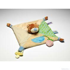 My teddy - kvadratisk sutteklud - dreng - fra babyhome til 99,-
