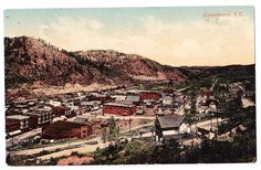 A postcard by McRae Bros. of Greenwood & Phoenix, showing a 1907 view of Copper Street and Greenwood.