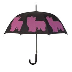 Take a look at this Yorkshire Terrier Walking Stick Umbrella by The San Francisco Umbrella Company on today!