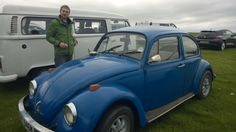 Volksfling 2014. Here is our showing. Our lovely Harry - 1973 1.6 beetle