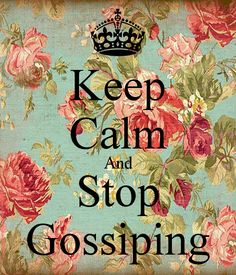 how to stop gossiping bible