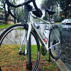 Rain or shine the training has begun! #cycling #biking #bicycle #rain #training by ride_onepulse
