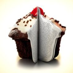 A cupcake book! My two favorite things!