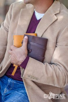 Looking for the perfect gift? If he loves to sketch, write in a journal, take notes, or write song lyrics, this is the gift for him! Leather Sketchbook, Leather Journal, Leather Gifts, Handmade Leather, Ox, Song Lyrics, Book Lovers, Gifts For Him, Journals