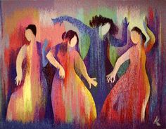 Each of us is a thread in another's tapestry. Our lives are woven together for a reason.    Tapestry by Anna Kocherovsky