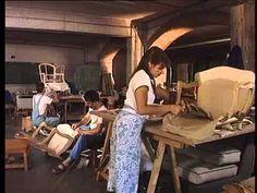 Afpa : coup de projecteur sur le tapissier d'ameublement - YouTube