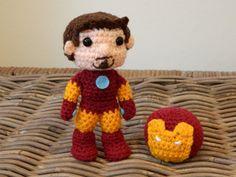 Iron Man Crochet Amigurumi (Plush)