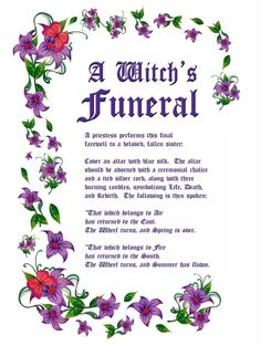 Charmed Series Book of Shadows: Witches Funeral » Metaphysic Study