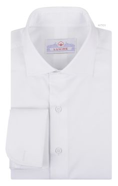 White doesn't age and so doesn't a fine tailored shirt. This dress shirt constructed in Lustrous Fine White is an example right before your eyes: http://custom.luxire.com/products/lusterous-fine-white  Consists of english collar and french cuffs.