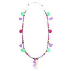 Maya disc boho necklace – full of joy