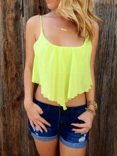 Chiffon Pointed Crop Top, I HSVE THIS TOP IN ROYAL BLUE SUPER CUTE
