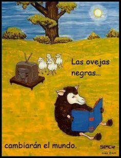 Las ovejas que leen mucho se vuelven ovejas negras, dicen