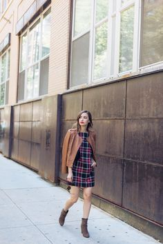 How to style plaid t