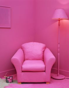 My house will be pink. All pink.