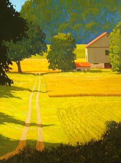 Adam Noonan - Canadian Plein Air Painter - Works///My kind of place. Note by Roger Carrier