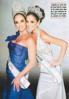 Lupita Jones y Ximena Navarrete