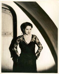 Billie Dove (Warner Brothers, 1930's), photo by Elmer Fryer