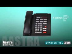 How To Adjust The Volume On The Aastra M8009 Phone