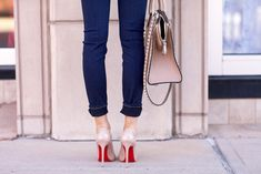 red bottom heels  Christian Louboutin.