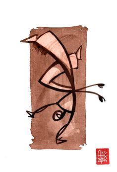 Illustration : Capoeira – 728 [ #capoeira #watercolor #illustration]