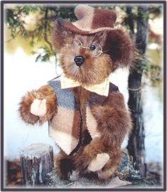 Handcrafted Hugs from previously enjoyed fur coats and mohair. Created by Rhonda Lynn at the kozykabin. Collector Teddy Bears handmade from your old fur coat Chien Halloween, Bear Design, Fur Coats, Hug, Memory Bears, Christmas Gifts, Lily, Teddy Bears, Oceans