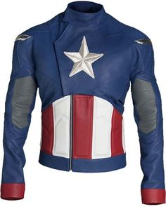 Do style in this Captain America Jacket that is inspired by the costume of Steve Rogers portrayed by Chris Evans in The Avengers movie. This outfit is fully prepared in leather material and is made to fit your body like gloves. Shop yours with confidence! Captain America Costume, Captain America Civil, Chris Evans Captain America, Captain America Outfit, Biker Leather, Faux Leather Jackets, Leather Men, Real Leather, Motorcycle Leather