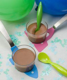 Mousse με σοκολάτα γάλακτος