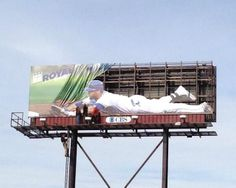 (via The Kansas City Royals are killing the billboard game with their newest ad campaign. The newly unveiled sign features Alex Gordon sliding Kansas City Royals, Kc Royals Baseball, Baseball Season, Baseball Teams, Sports Teams, Basketball, Football, Alex Gordon, Best Ads