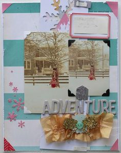 off on adventure by Ashley Calder using the Cocoa Daisy March kit