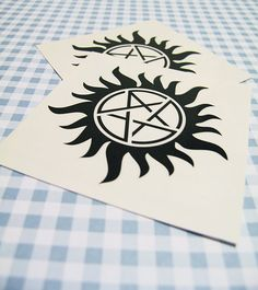 ON SALE 3x Temporary AntiPossession Tattoos make every guest wear one for party