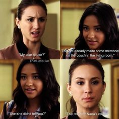 PLL- Spencer and Emily / I just watched this part aha