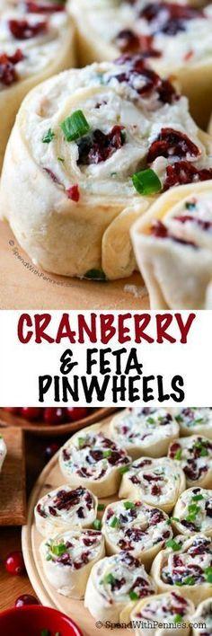 Cranberry Feta Pinwh