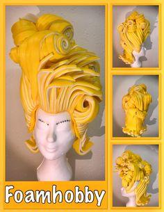 Foam Wigs, Fantasy Hair, Wig Making, George Michael, Headgear, Fancy Dress, Puppets, Las Vegas, Alice