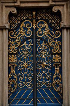 Beautifully ornate door :-)