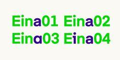 Eina - Webfont & Desktop font « MyFonts