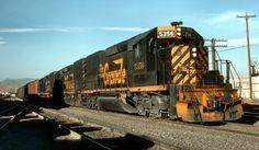 Denver & Rio Grande diesels at Denver, Colorado