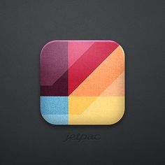 One of our early ipad app icons designs by Cole Rise, who also designed Instagram's icon.