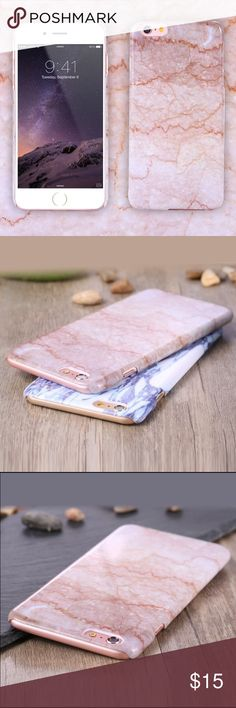 Beige iPhone 6 case Brand new still in packaging! Adorable beige iPhone 6 case! Hard plastic and very protective Accessories Phone Cases
