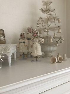 Vintage Christmas, Christmas Decorations, Fairy, Ebay, Angels, Painting, Antique Dolls, Figurine, Christmas Decor