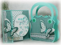 Inspired and Unscripted: Gift Sets - Decorative Edge Card and Purse SCUT File and Hand Cut Templates