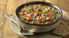 Warm up your weekend with homemade soup!  Here's one you don't have to watch over.